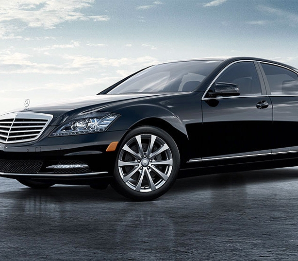 Mercedes Benz S350 car service las vegas airport